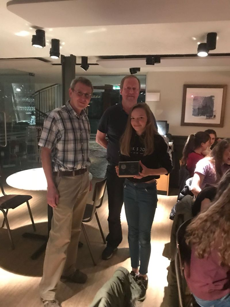 Junior Awards 2018 Lucy Denece