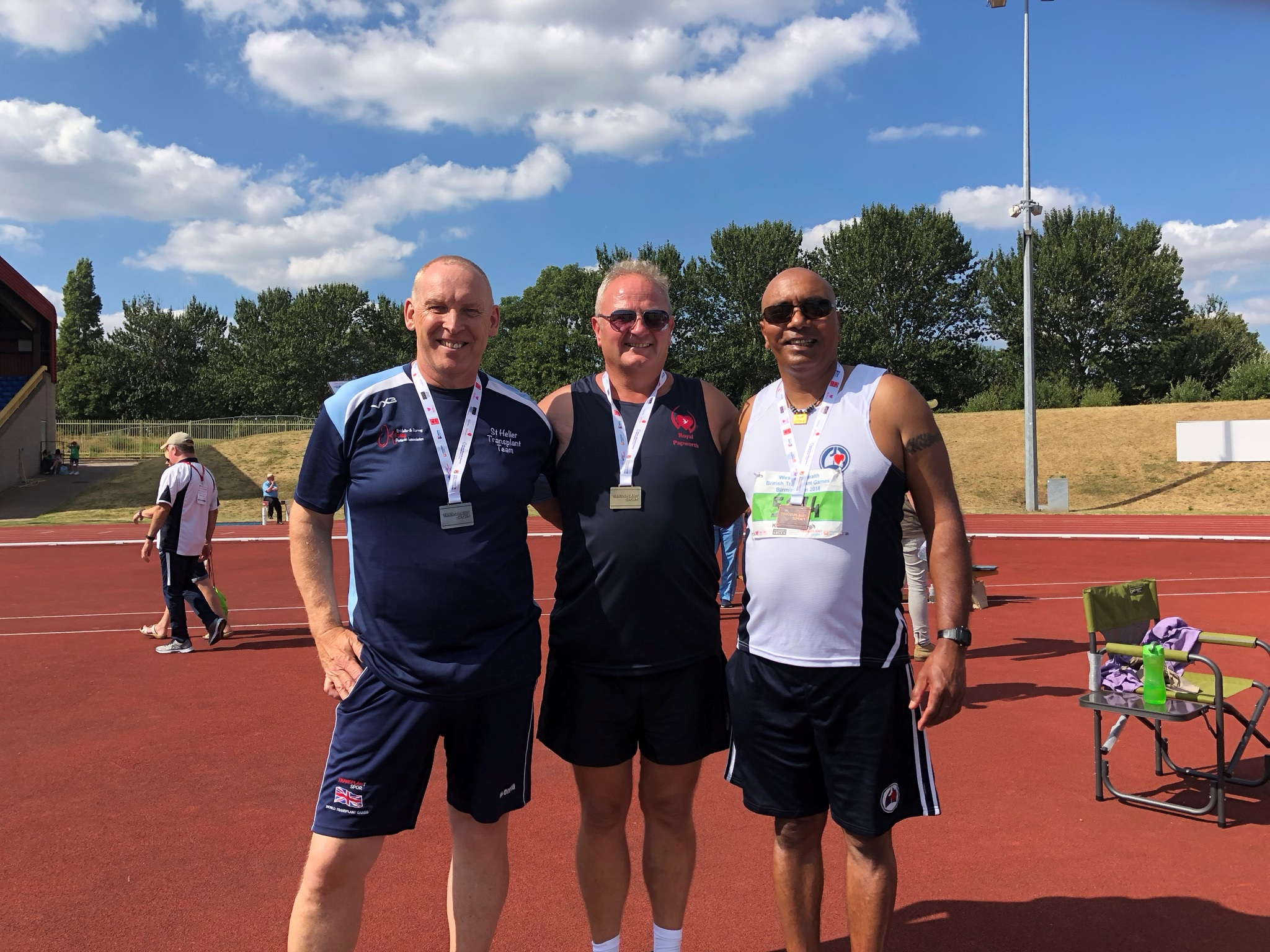 Moray Laing British Transplant Games 2