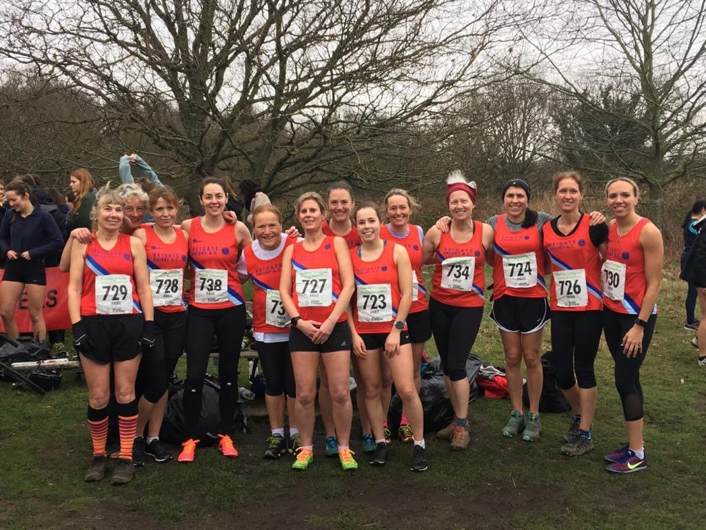 Ladies Surrey League x c 11th Jan 2020